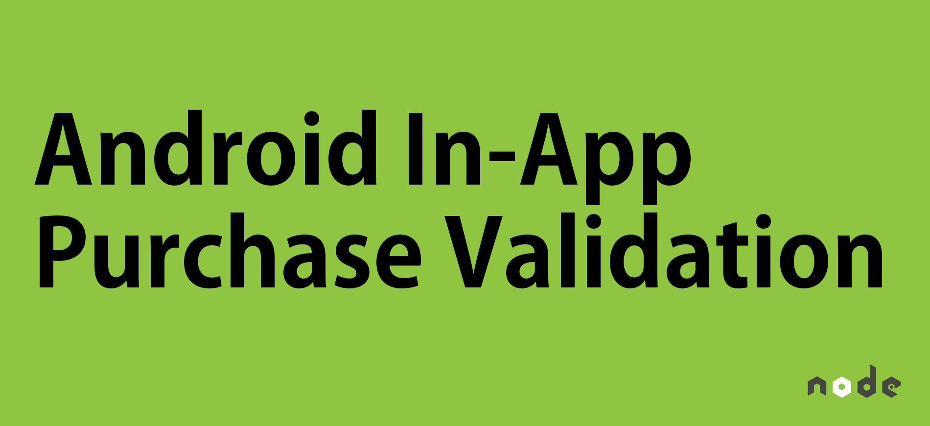 how to create in app purchase android